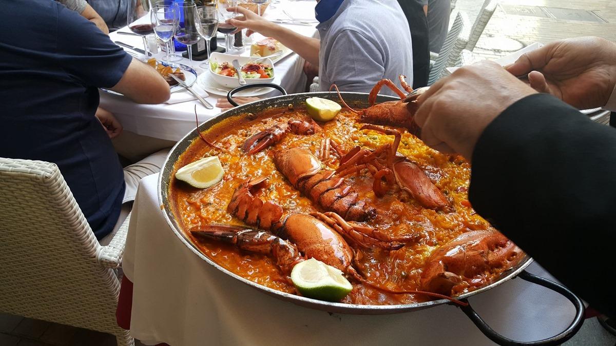 El arroz de 'El Chinitas', un acierto seguro en Málaga. Foto: Facebook 'El Chinitas'