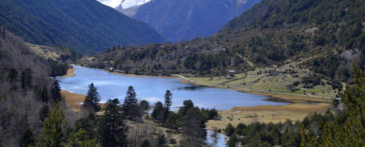 Aigüestortes i Estany de Sant Maurici, Lleida.