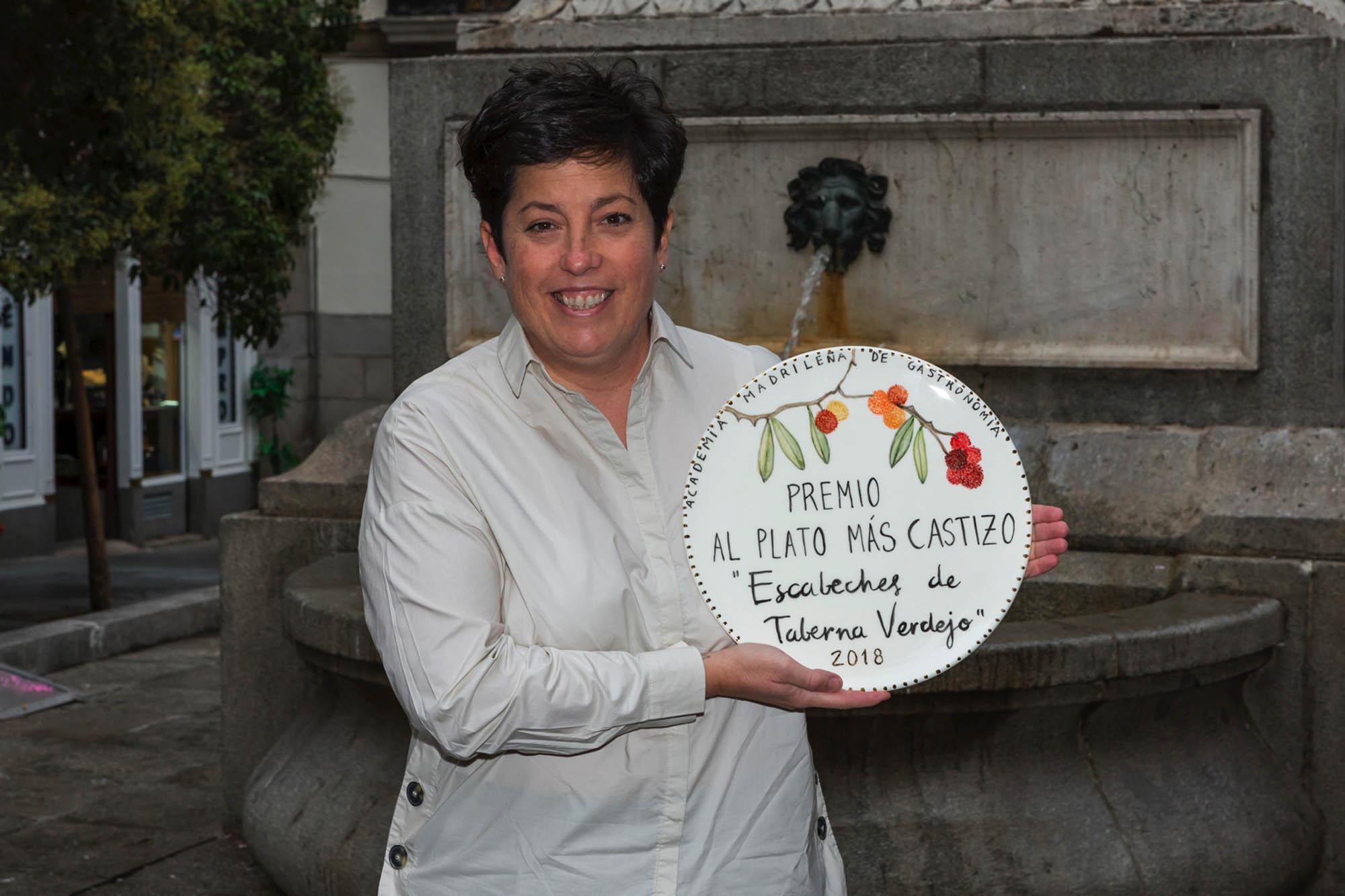 Marian Reguera de 'Taberna Verdejo', un lugar en el que te sientes como en casa y con unos escabeches de fábula.