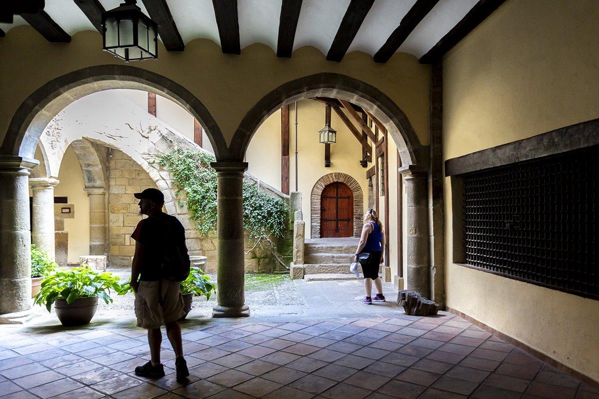 Interior del Palacio de Villasegura, uno de los más grandes de la localidad.