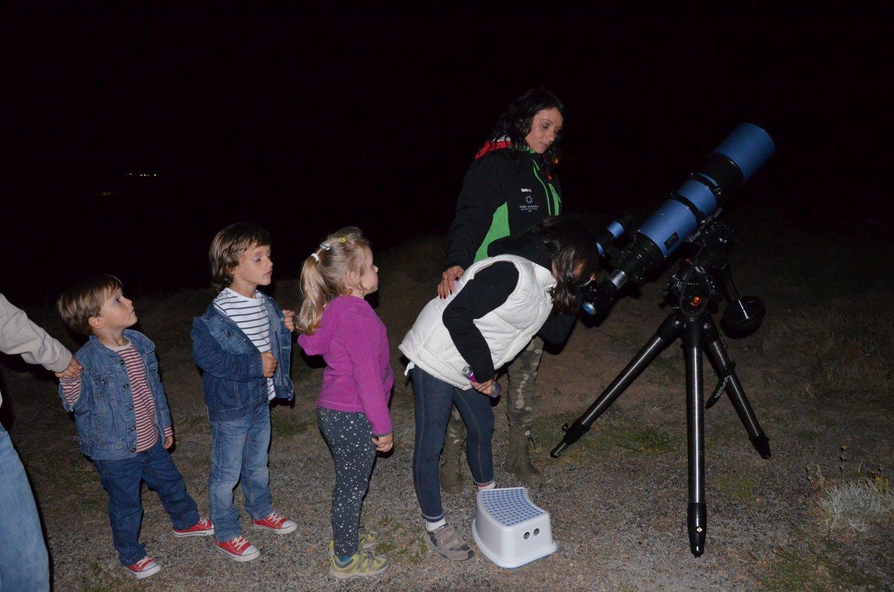 Sierra de Gúdar-Javalambre: Observación de estrellas desde la sierra (niños)