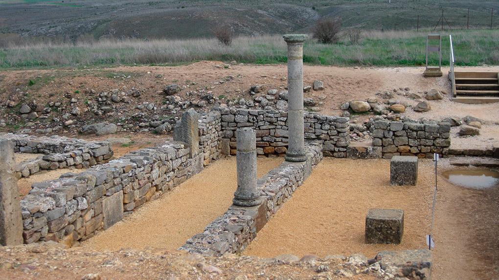 Las ruinas de Numancia. Foto: shutterstock.