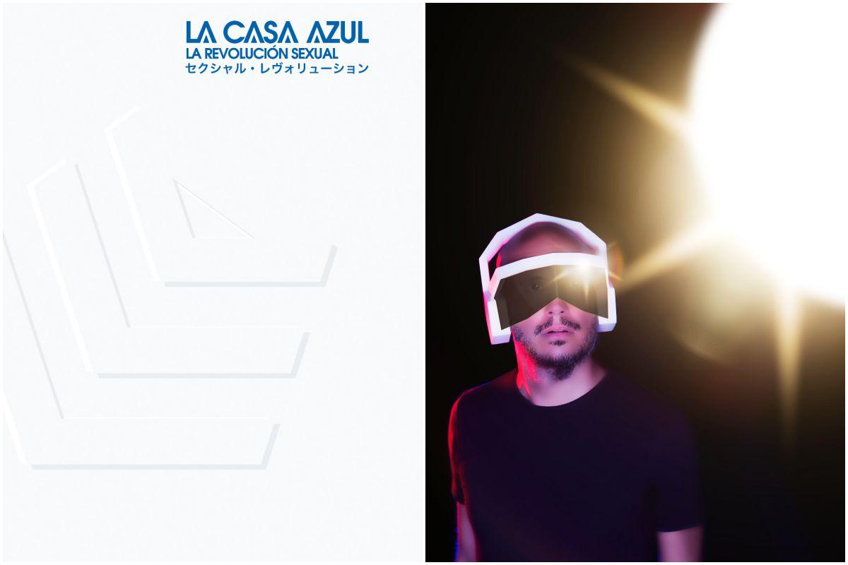 Portada y contraportada del disco de La Casa Azul. Fotos: Facebook.