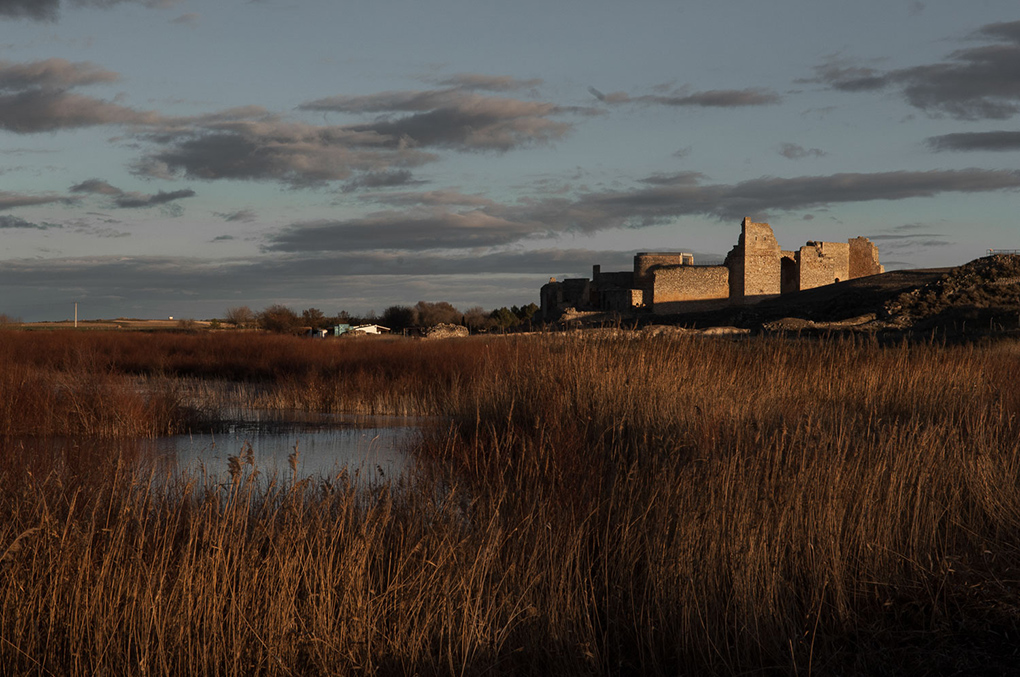 Esta antigua fortaleza árabe fue también morada de los caballeros calatravos.
