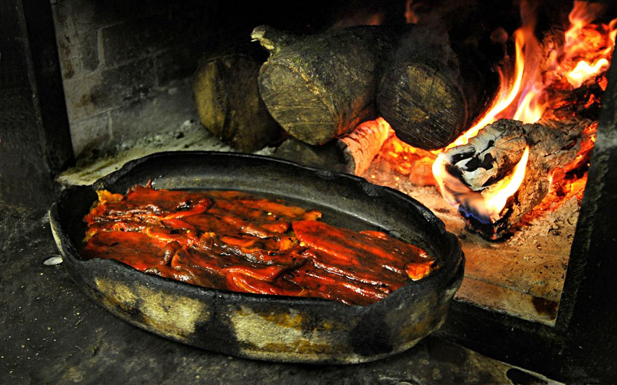 El sabor de la leña se impregna en cada plato. Foto: Etxebarri.