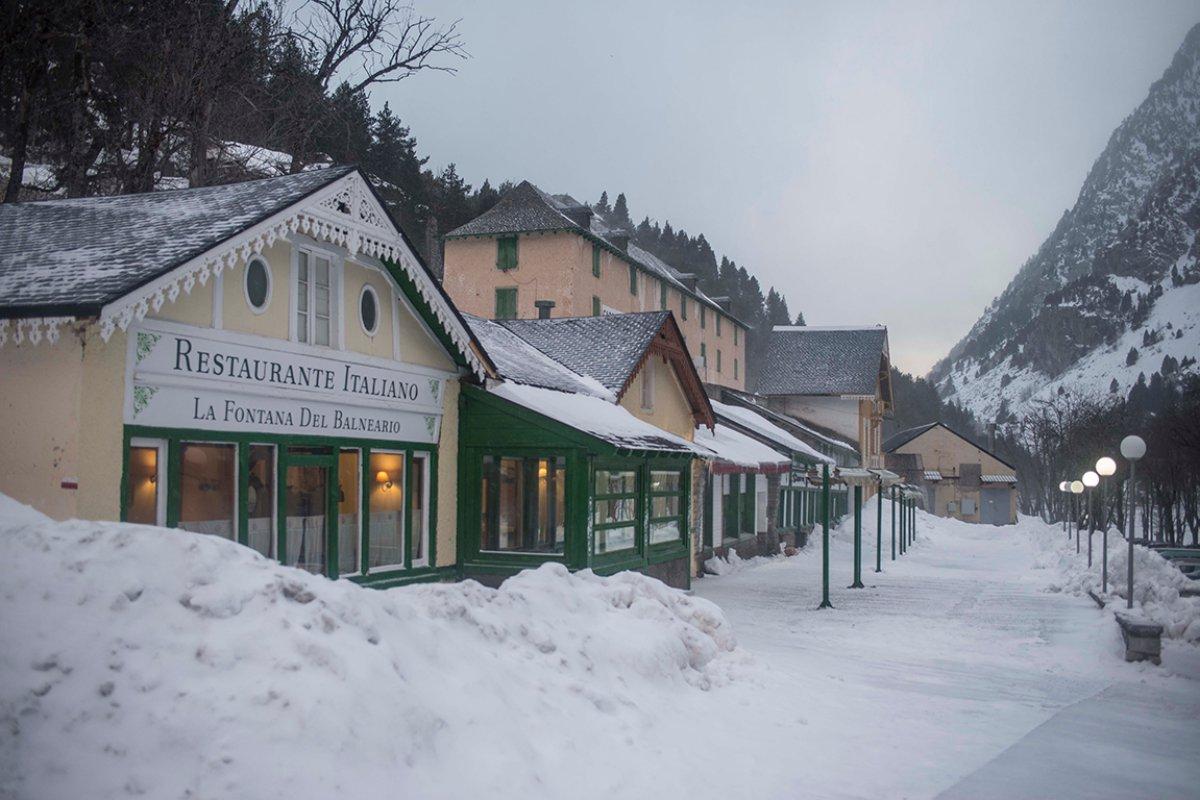 Los alrededores del complejo son ideales para dar un paseo o visitar alguno de sus restaurantes.