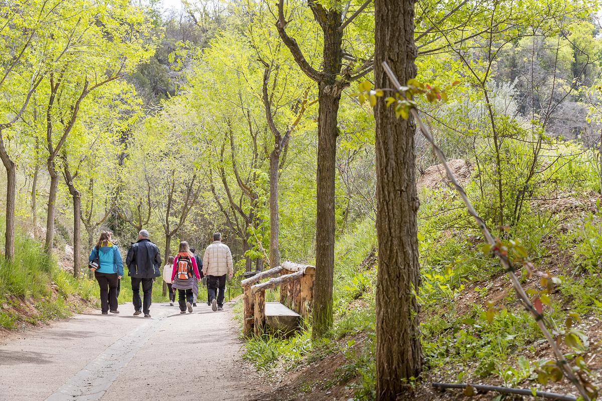 El parque es accesible al público gracias a la labor de Juan Federico Muntadas.