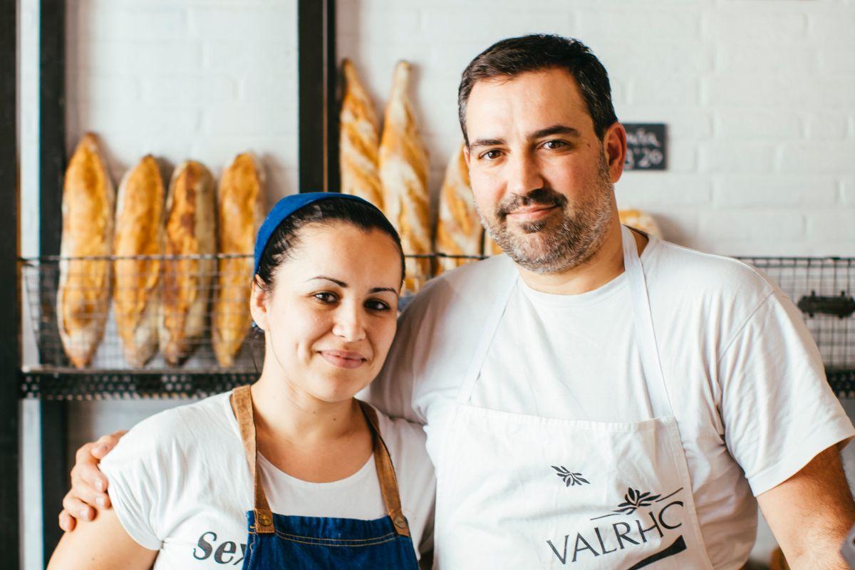 Alexis García y su mujer, Marlene Hernández, al frente del negocio.