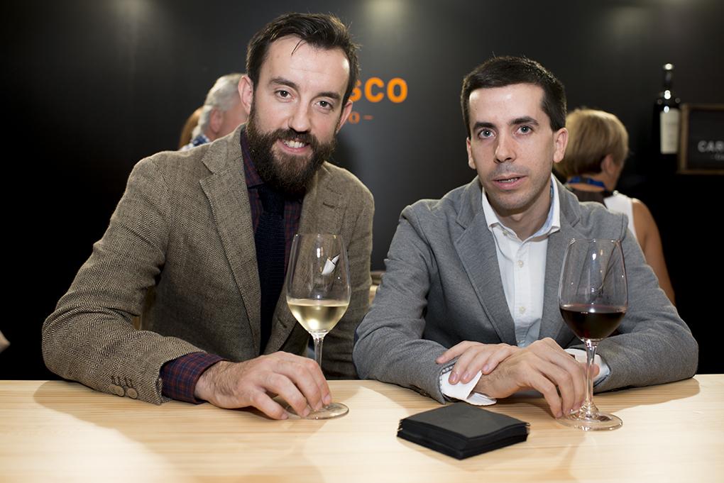 Urko Mugartegui y Carlos García Mayoralas, dos protagonistas de la revolución de los camareros. Foto: Sofía Moro.