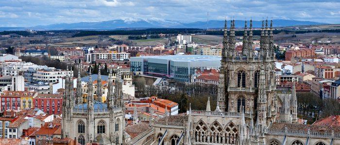 Panorámica de Burgos.