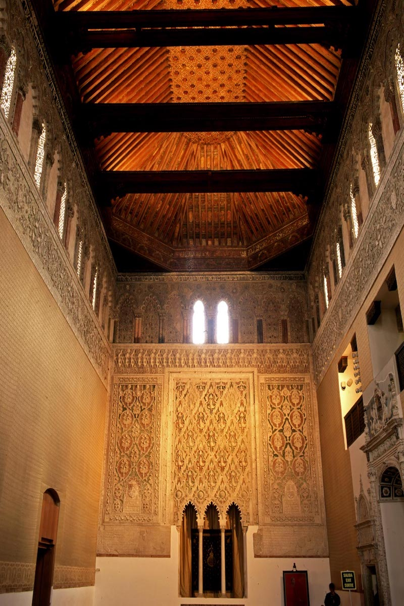 Sinagoga del Tránsito. Foto: Patronato Municipal de Turismo de Toledo.
