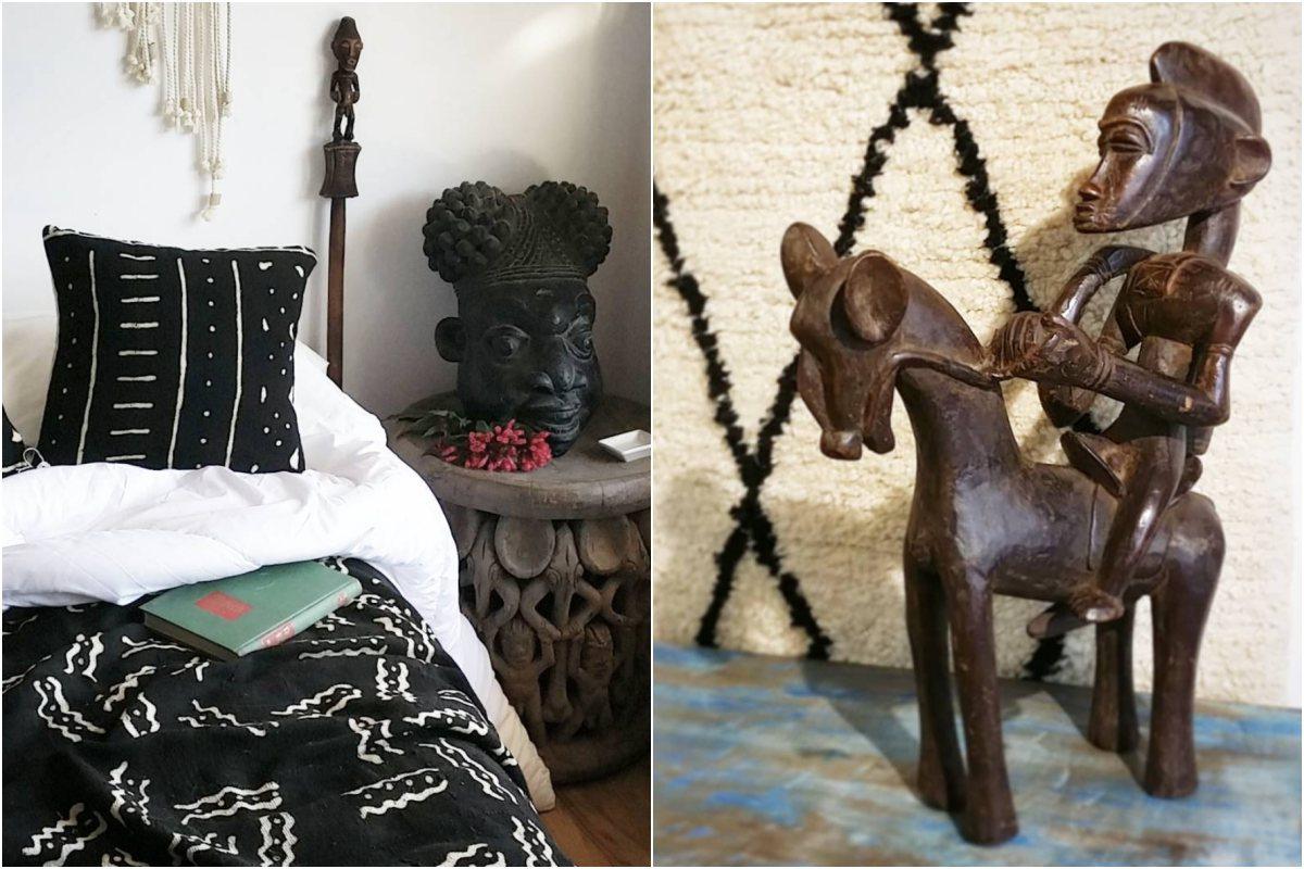 Mambila apuesta por la decoración más tribal del continente africano.
