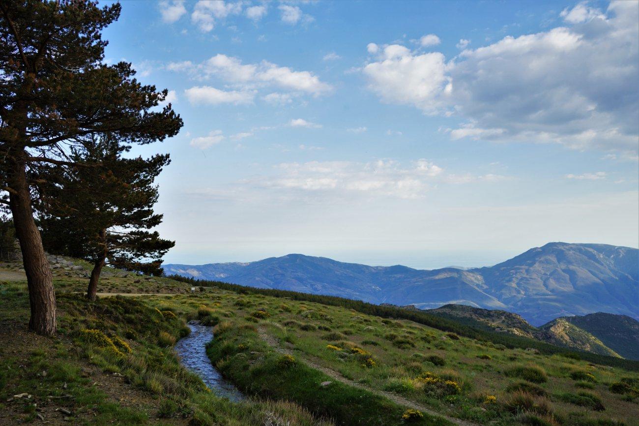 Ascenso al Mulhacén: Campos de la Alpujarra