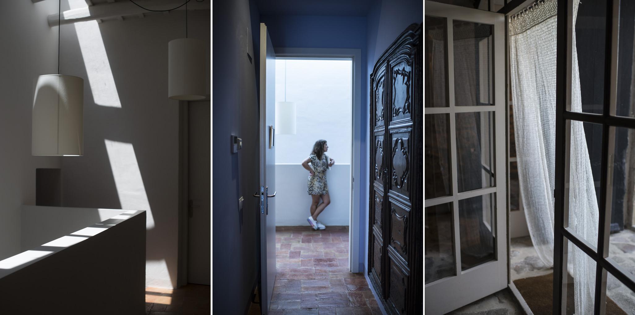 La luz se filtra tamizada por cada rincón, creando sugerentes ambientes.