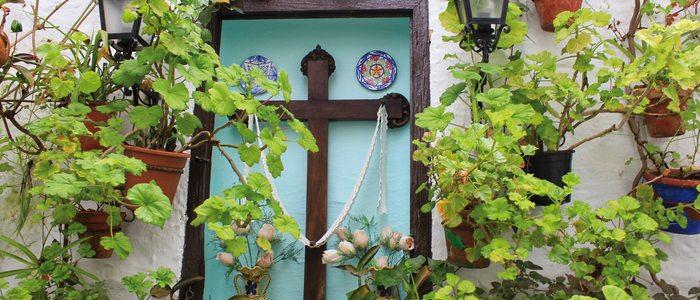 Detalle del barrio de la Villa de Priego de Córdoba.