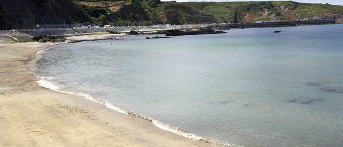 Playa de Luarca.