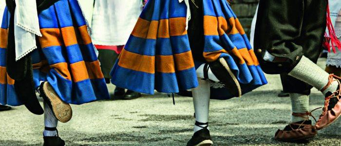 Baile regional asturiano.