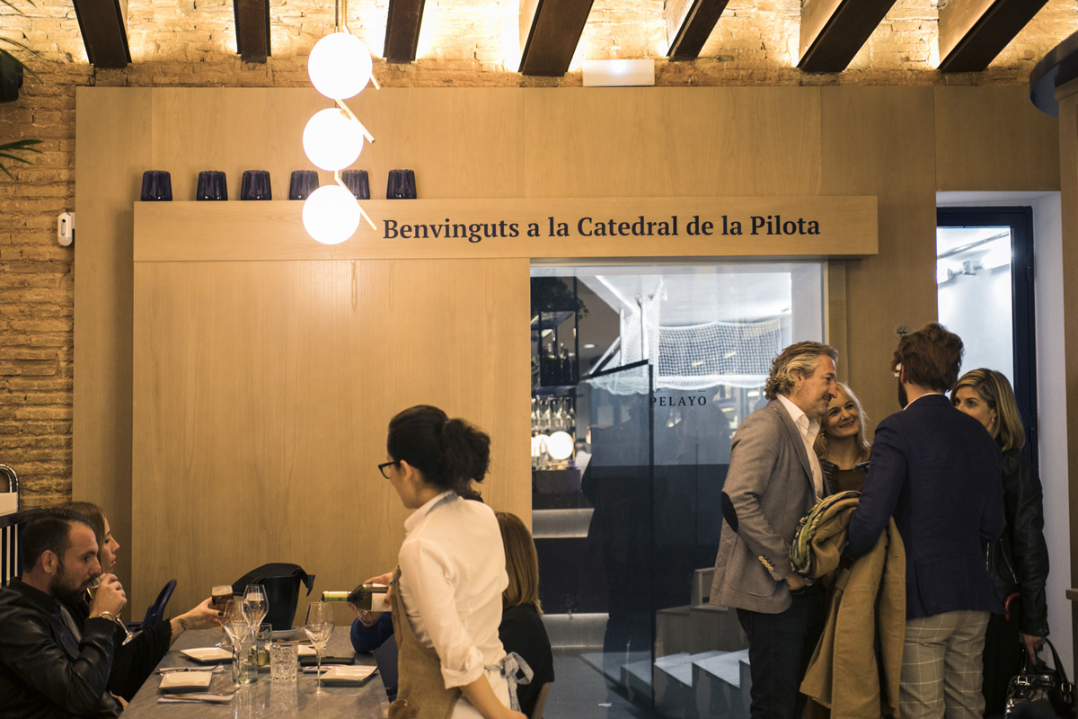 El restaurante se ha convertido en la Catedral de la Pllota.