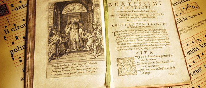 Libro del monasterio de Leyre Vitae Beatissimi Benedicti.