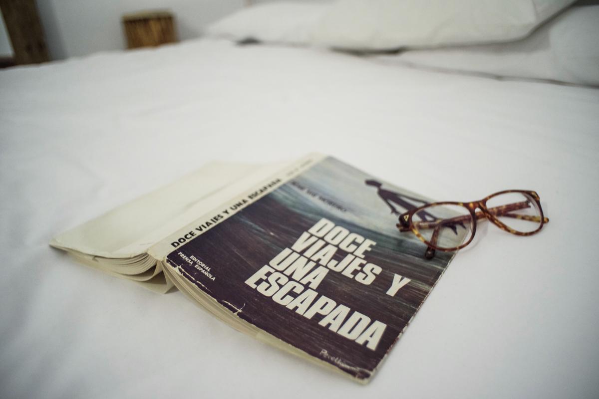 Viajar y tener todo el tiempo del mundo para leer, ¡un sueño!