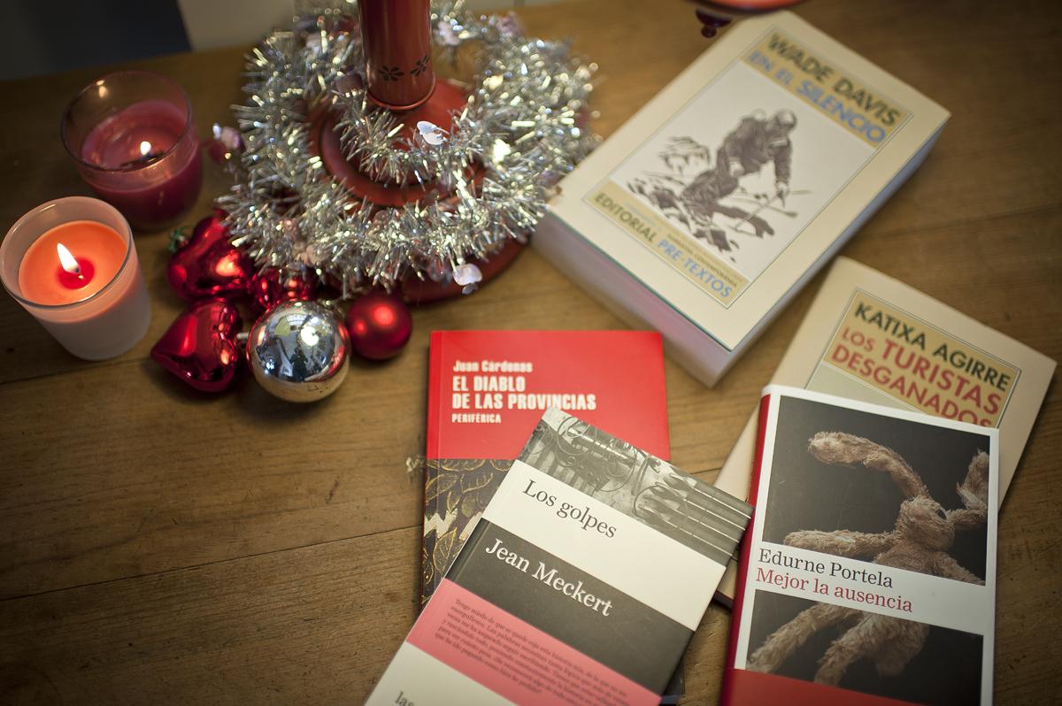 Sumérgete en los libros estas navidades.