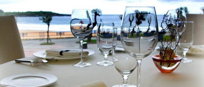 Restaurante Hotel Silken Río Santander.