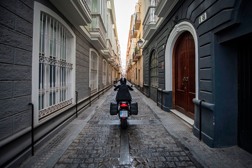 Planifica todo bien antes de partir con tu moto. Foto: Marcos Moreno.