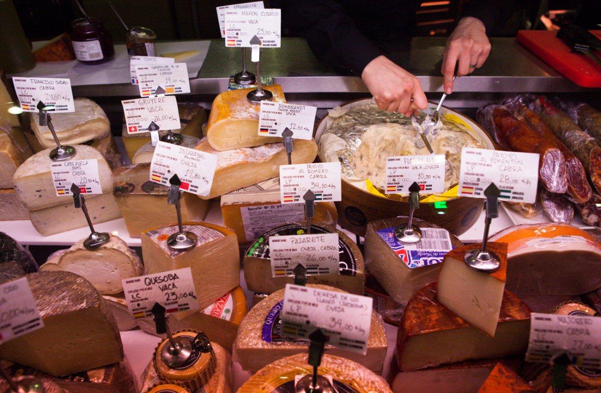 Alimentación Quiroga: quesos