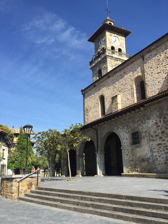 La Iglesia de Santa María, con 31 campanas de bronce. Foto: Aurora Muñoz