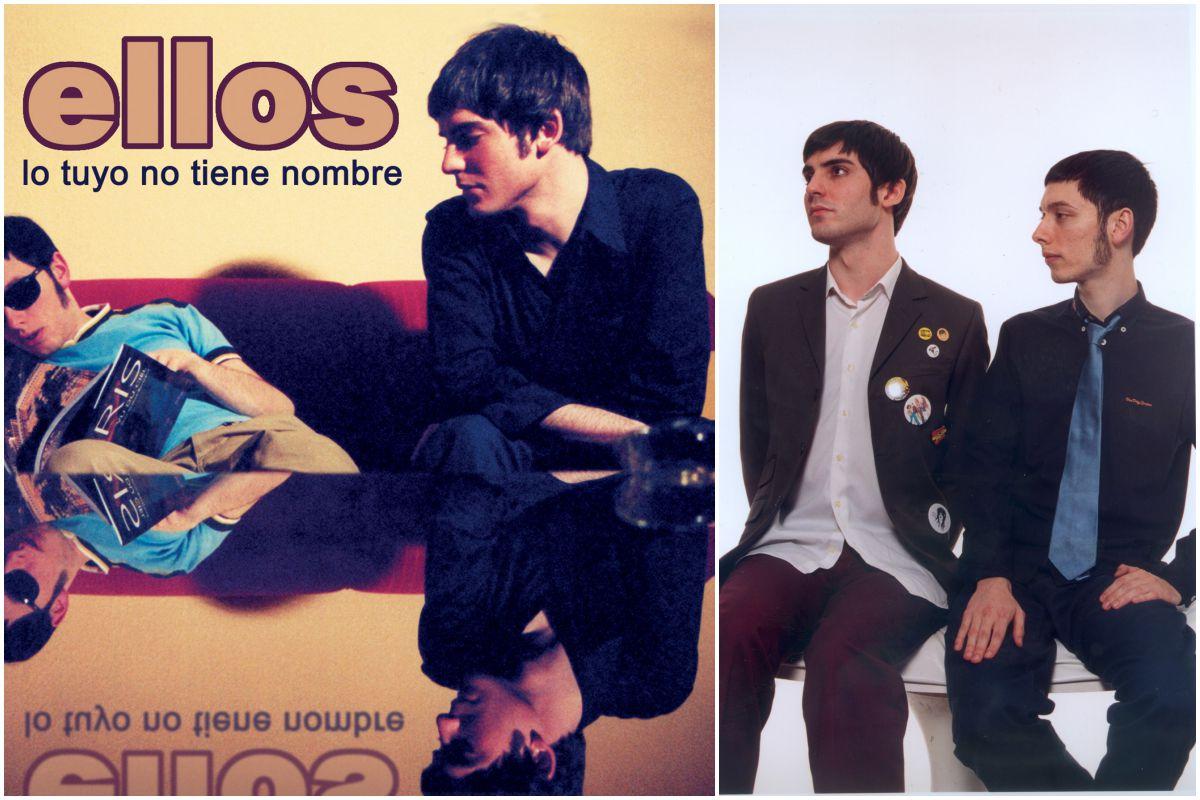 Portada del disco Lo tuyo no tiene nombre del grupo Ellos. Fotos: Facebook.