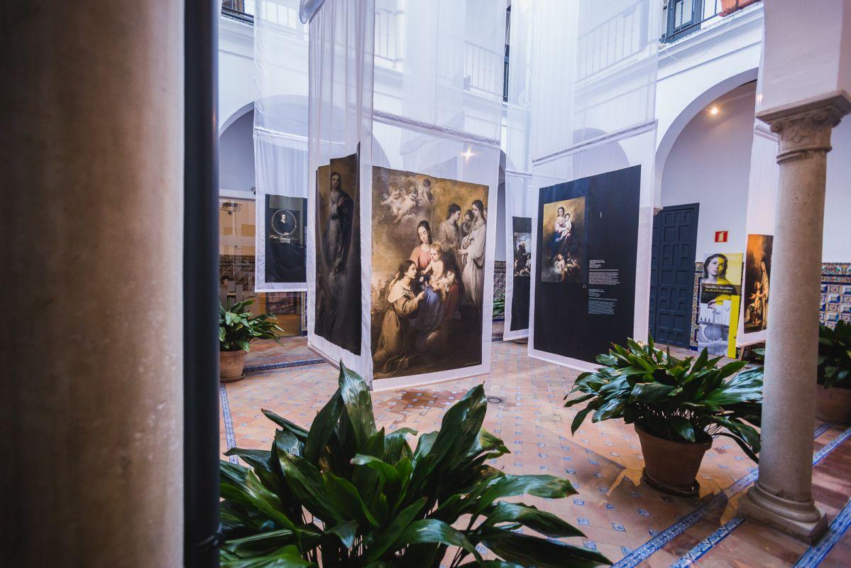 Vista del interior del Museo Casa Murillo en Sevilla.