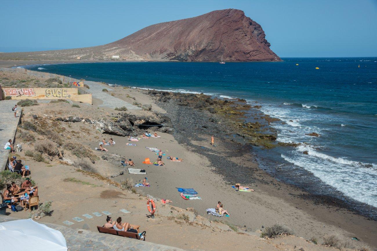 'El Pirata' (Playa de La Tejita): playa