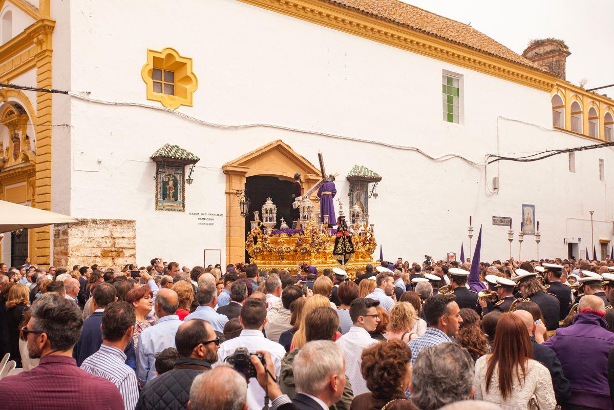 Un Viernes Santo en Utrera. Foto: Turismo de Utrera / Paco Álvarez.