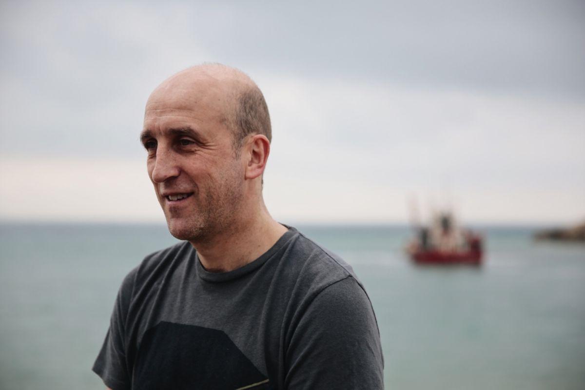 Retrato del chef Aitor Arregi del restaurante 'Elkano', en Getaria (Guipúzcoa).