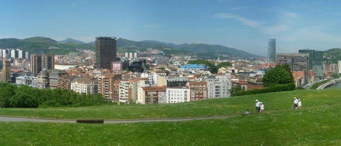 Parque Etxebarria, Bilbao.