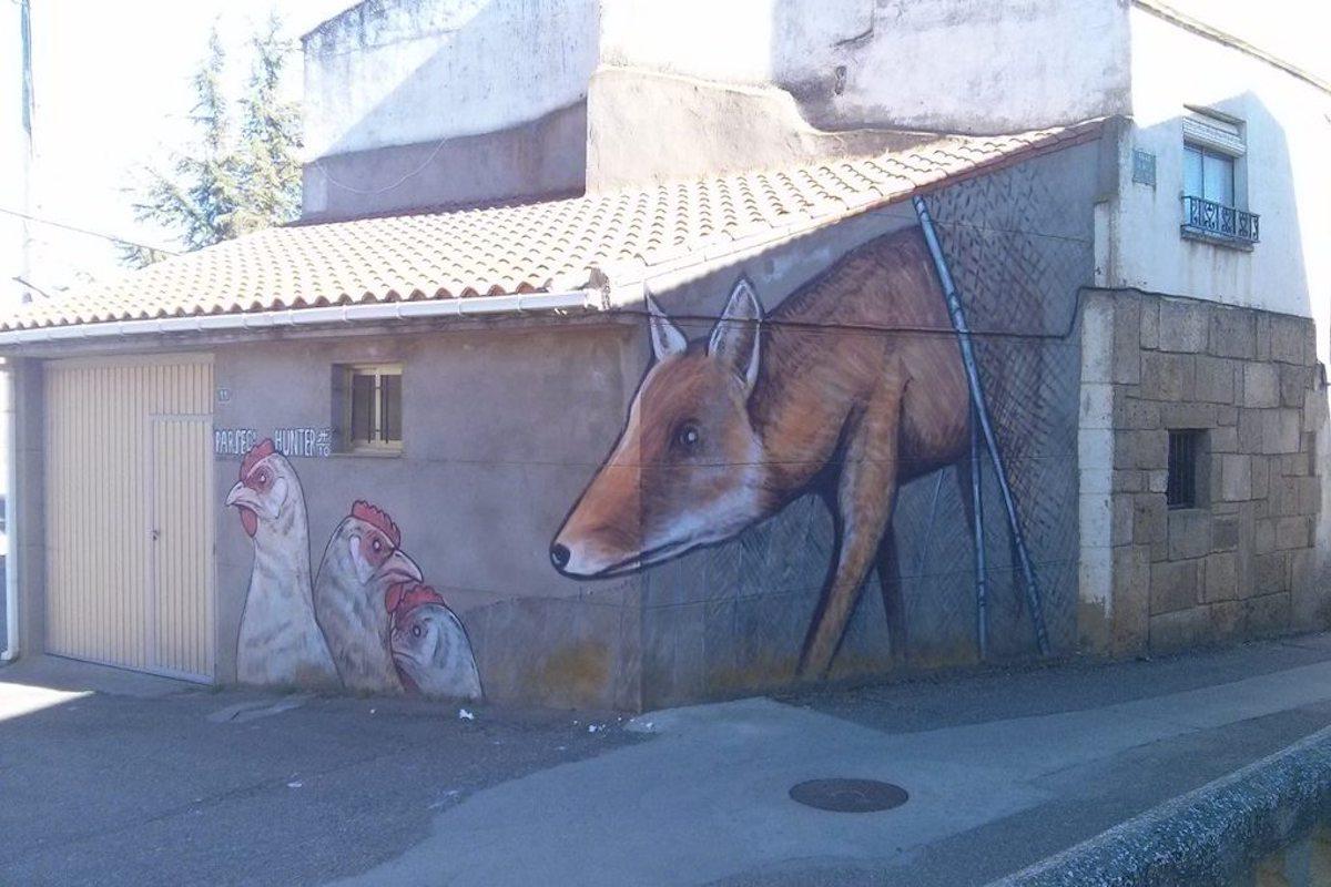 El lobo y las gallinas, de Parsec! en Castrogonzalo. Foto: Henar Ortega.