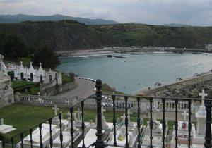 Cementerio de Luarca / Flickr de Cayetano.
