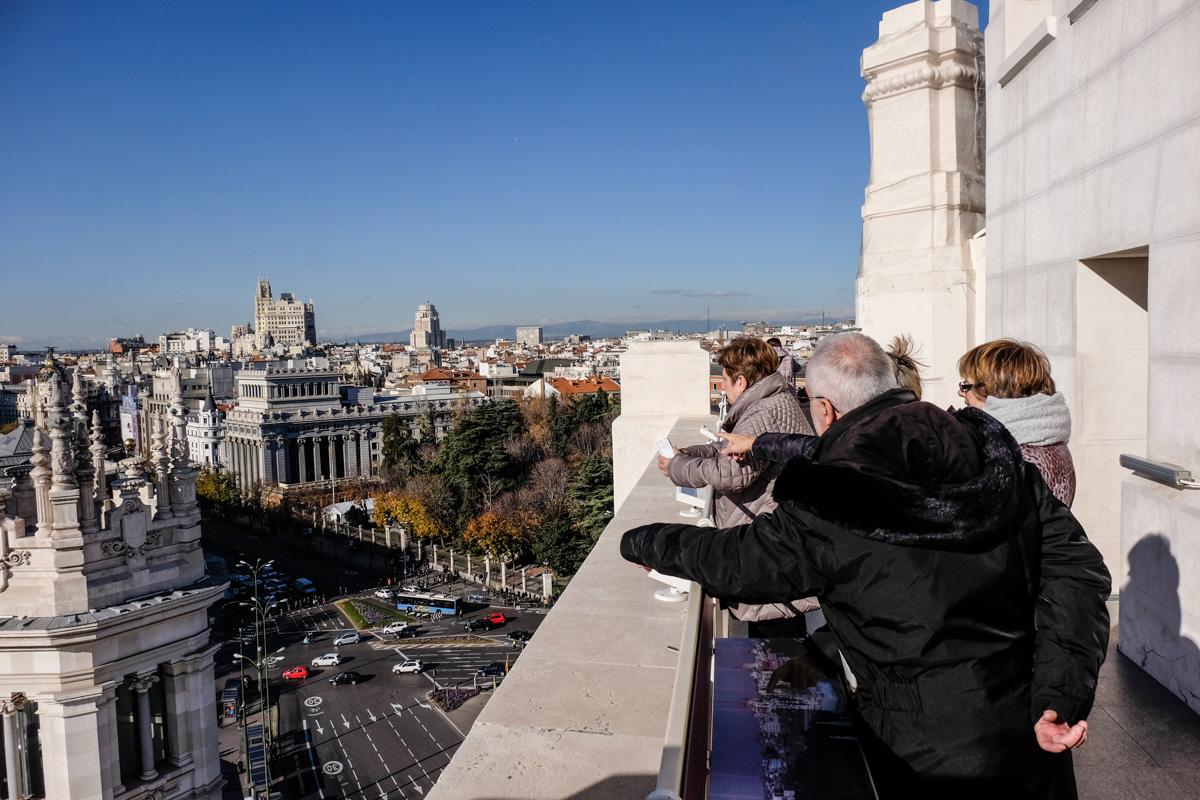 El mirador del Ayuntamiento de la capital es gratuito el primer miércoles de cada mes.
