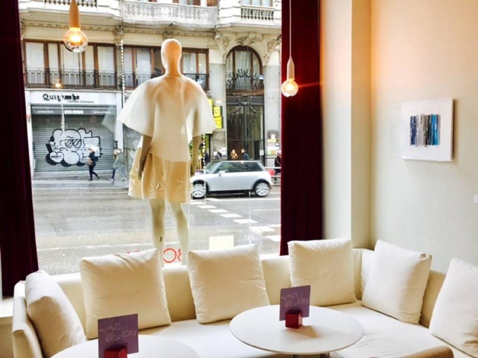 Exposición de moda en el Iberostar Las Letras. Foto: Facebook.