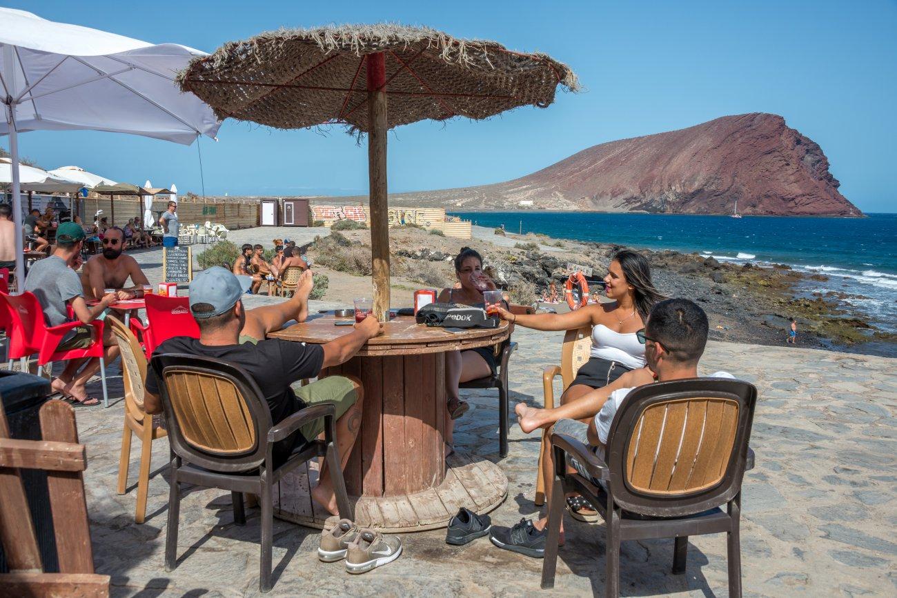 'El Pirata' (Playa de La Tejita): terraza