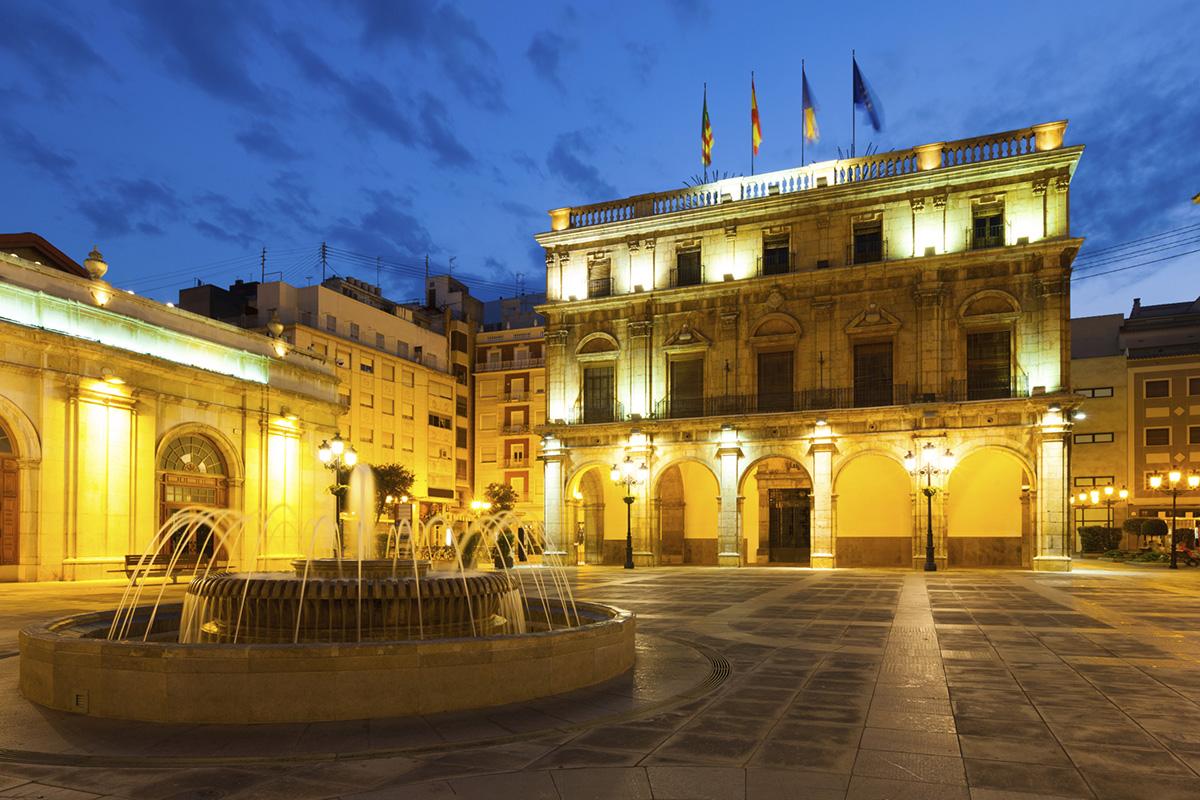 Plaza Mayor Castelló de la Plana.