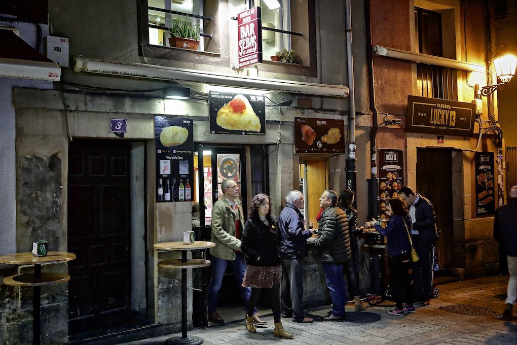 Terraza del bar Sebas.