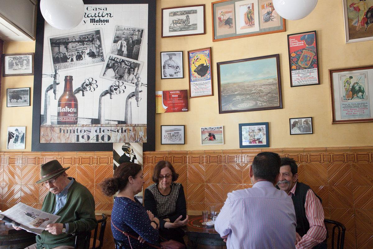 Casa Martín es una taberna de toda la vida, abierta desde 1940.