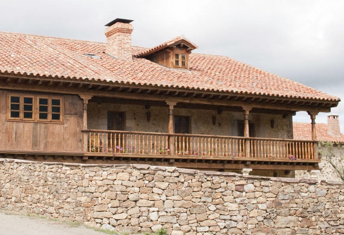 Casa típica montañesa en Liébana.