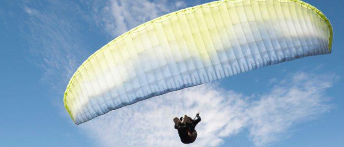 El valle de Benasque es uno de los preferidos por los aficionados al vuelo libre.