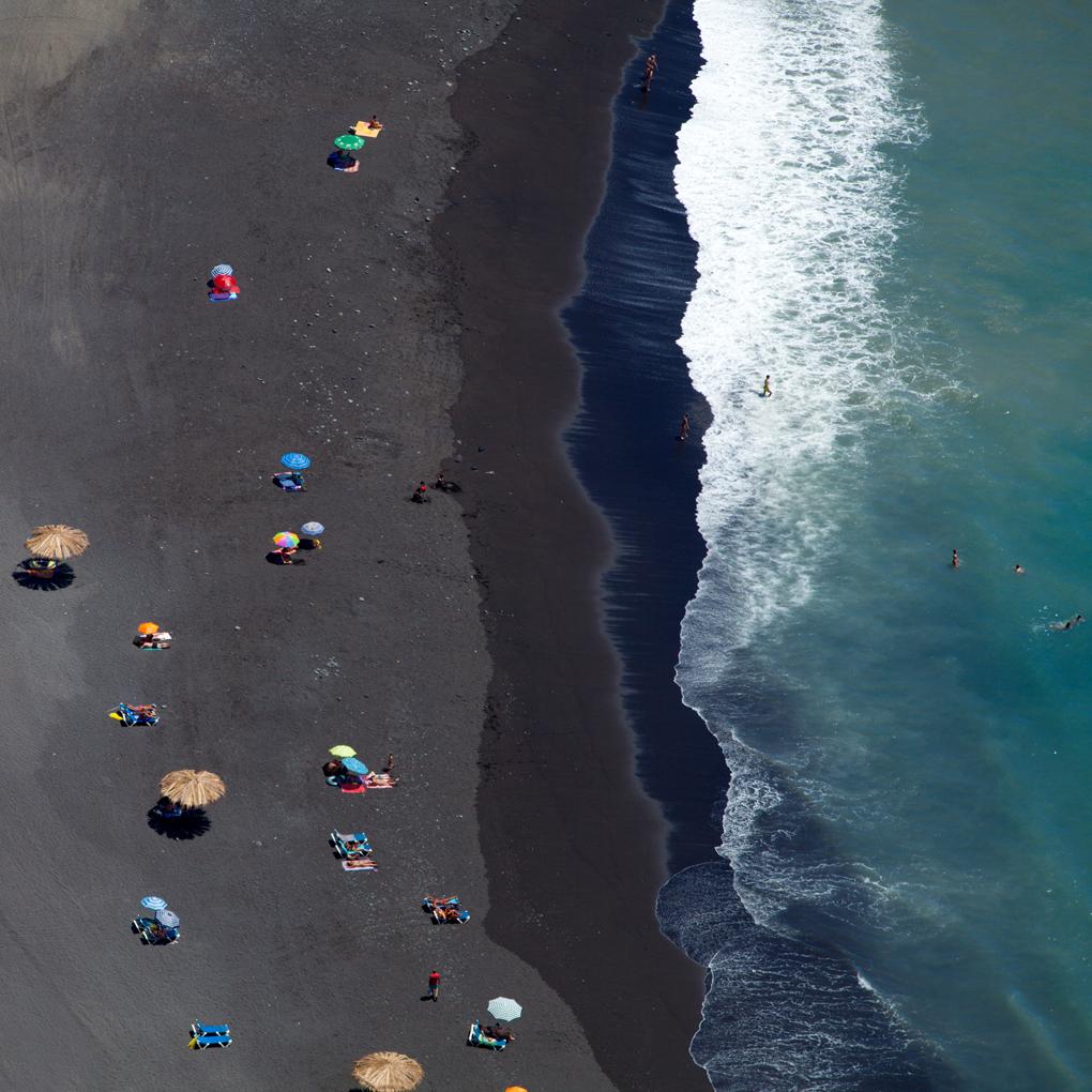 No son las playas de Madeira, son las de la isla de Palma. Foto: Shutterstock.
