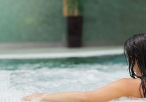 Relax en Aguas Limpias Spa.