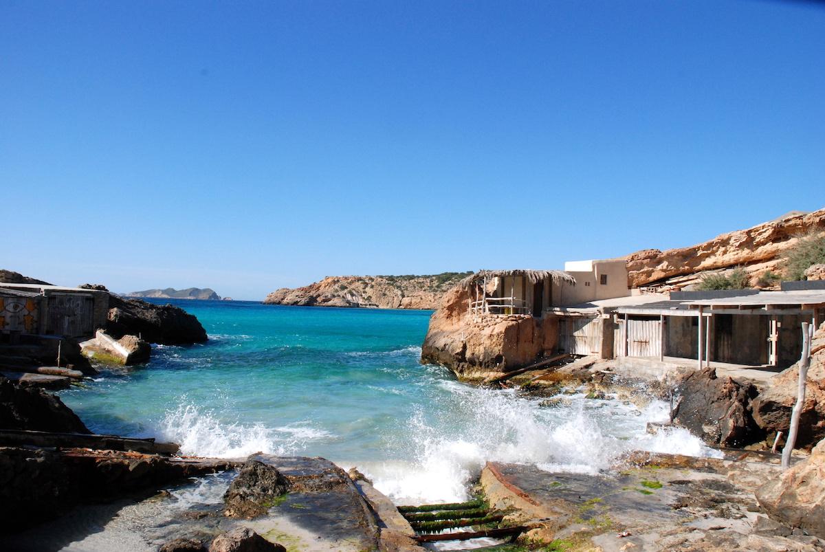 Cala Tárida. Foto: Fundación de Promoción Turística de Ibiza.