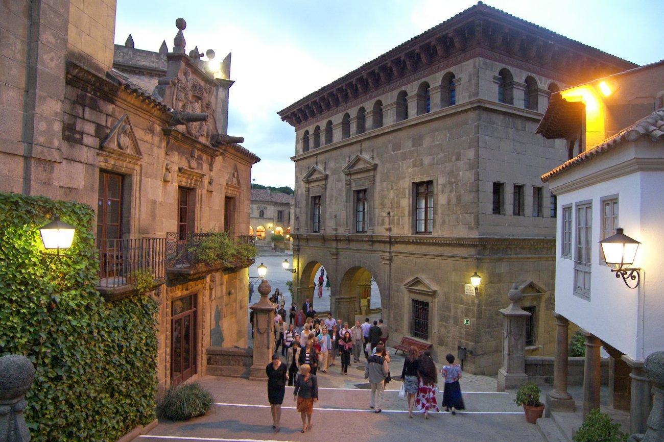 El Poble Espanyol (Barcelona)