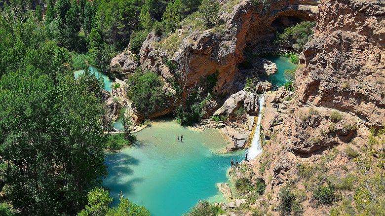 Lugares para bañarse en Castilla-La Mancha